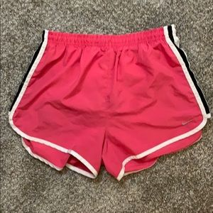 Small Pink Women's Nike Athletic Shorts - Dri Fit